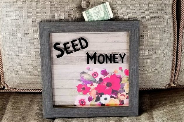 DIy Shadow Box Bank Step 3