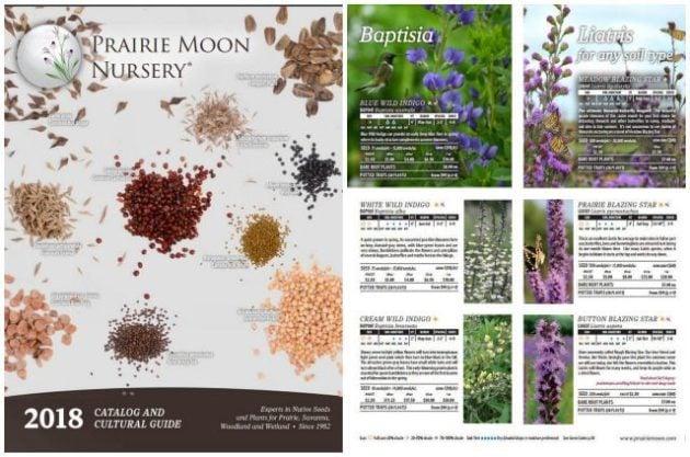 Seed Catalogs Prairie Moon