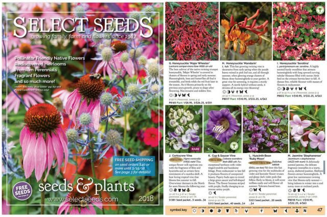 Seed Catalogs Select Seeds