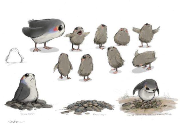 star-wars-the-last-jedi-porg-concept-art-porg to puffin
