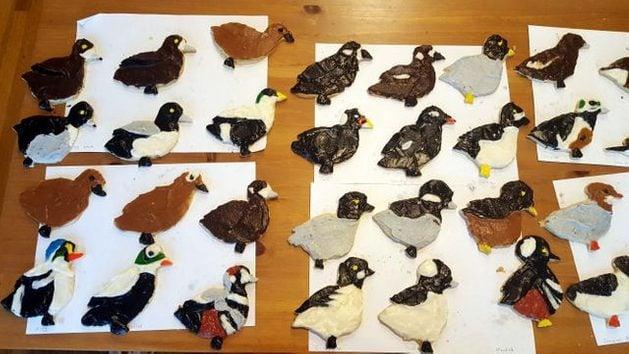 BotM Bird Cookies Decorating