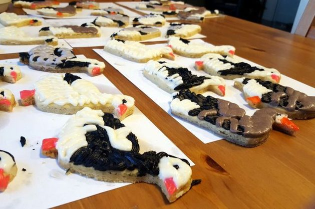 BotM Bird Cookies Geese