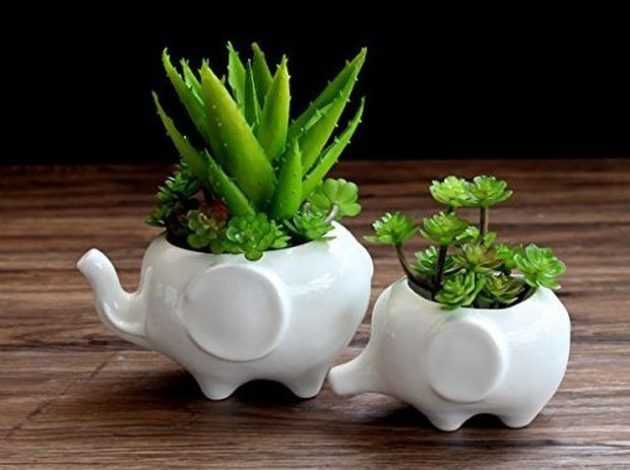 Mini Planters Elephants