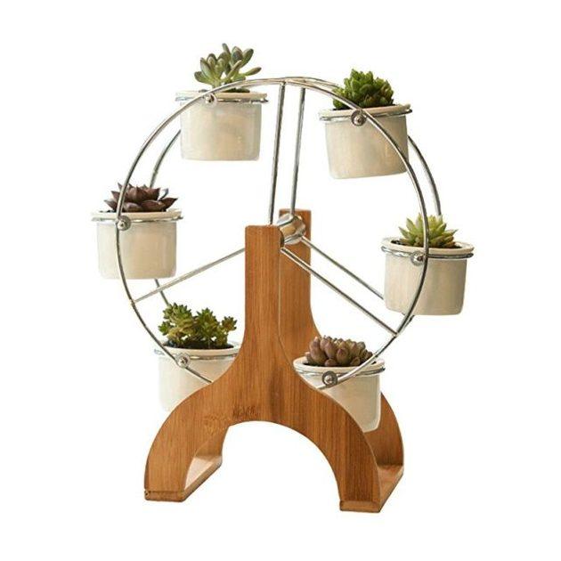 Mini Planters Ferris Wheel