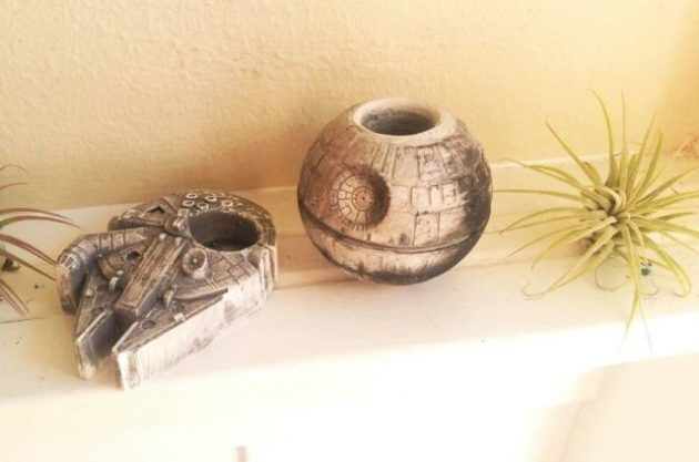 Mini Planters Star Wars Redwood Stoneworks