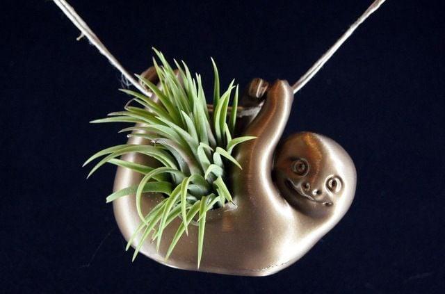 Succulent Planters Sloth Etsy