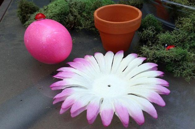 Flower Pot Easter Eggs 4