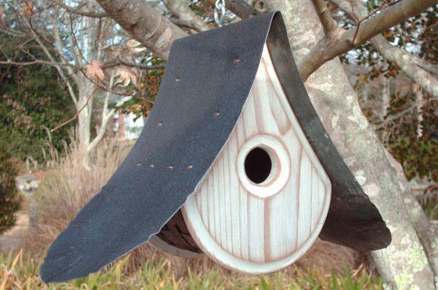 Raindrop Birdhouse Unique Birdhouses MikeMerrittArt Etsy