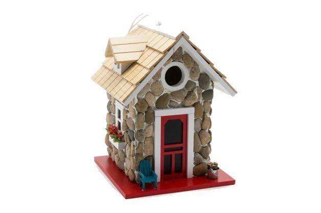 Stone Cottage Unique Birdhouses Plow and Hearth