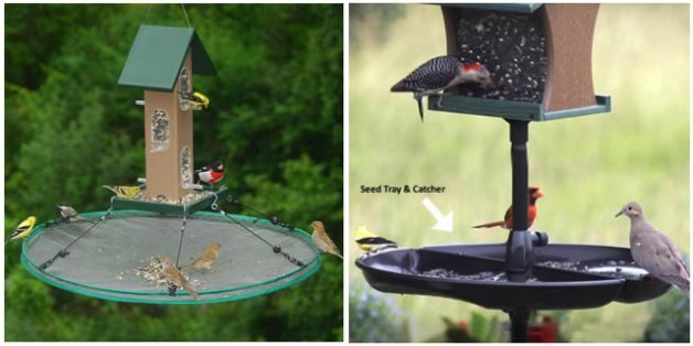 Keep It Clean Squirrel Proof Bird Feeders Trays