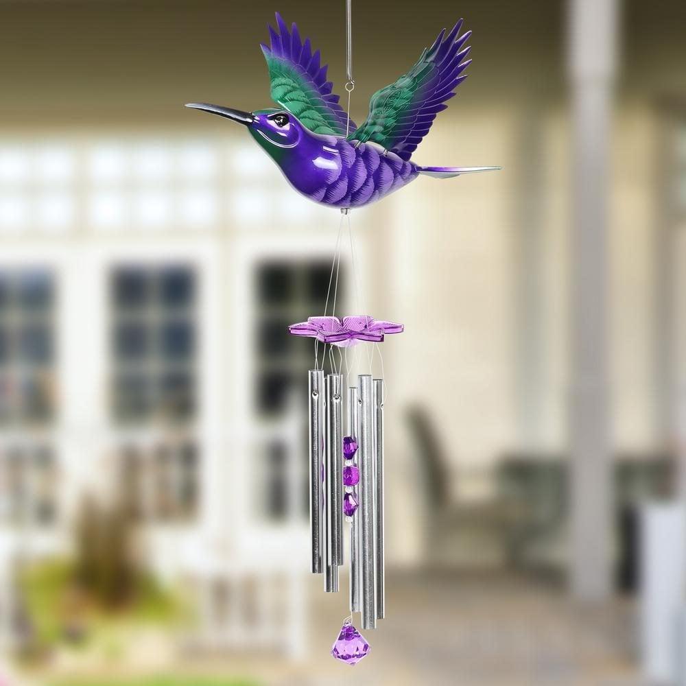 Hummingbird wind chime