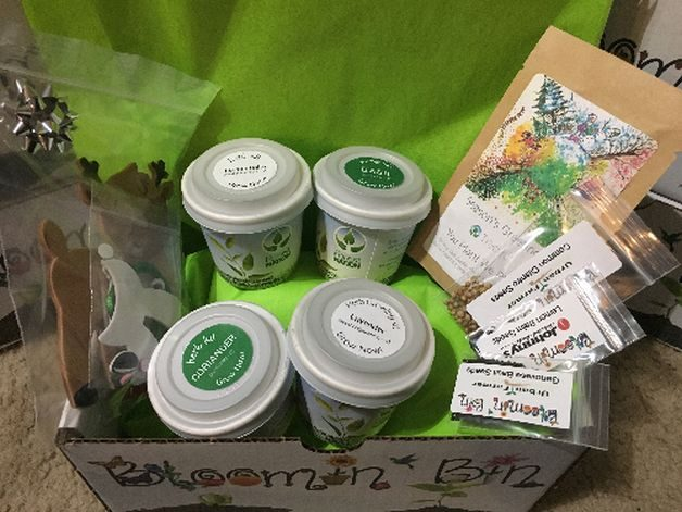 Gardening Subscription Boxes Bloomin Bins