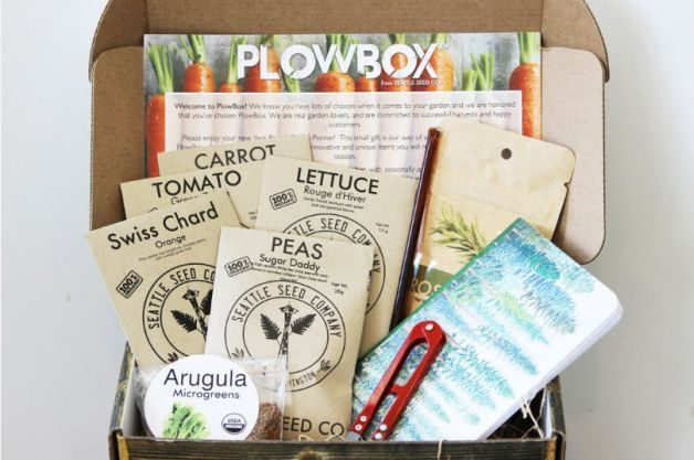 Gardening Subscription Boxes PlowBox