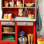 Make a DIY Potting Station from a Dresser