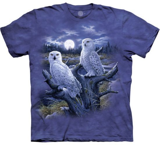 Owl Shirts The Mountain Snowy