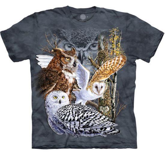 Owl Shirts The Mountain