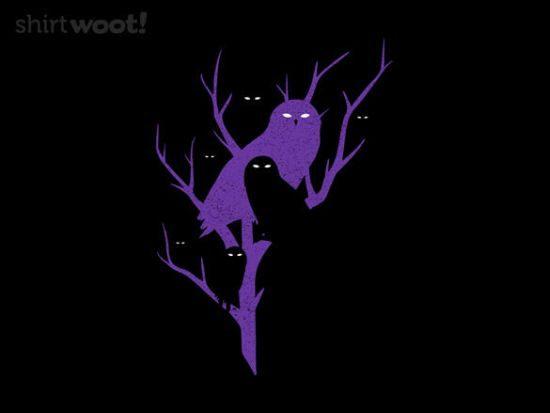Owl Shirts Woot Nightwatchers