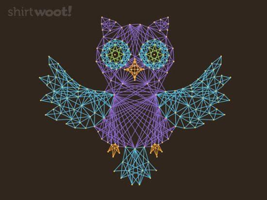 Owl Shirts Woot Stringiform