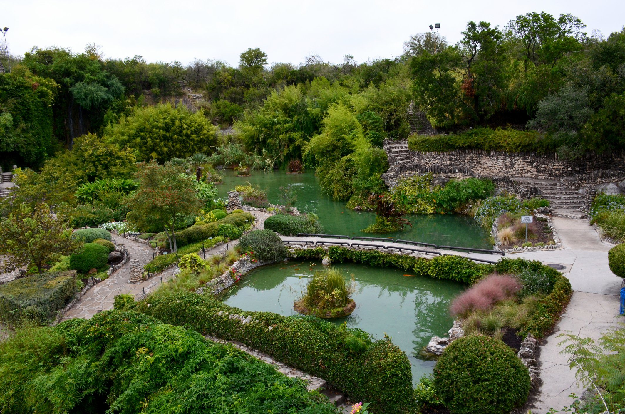 Japanese Tea Garden in San Antonio, Texas.