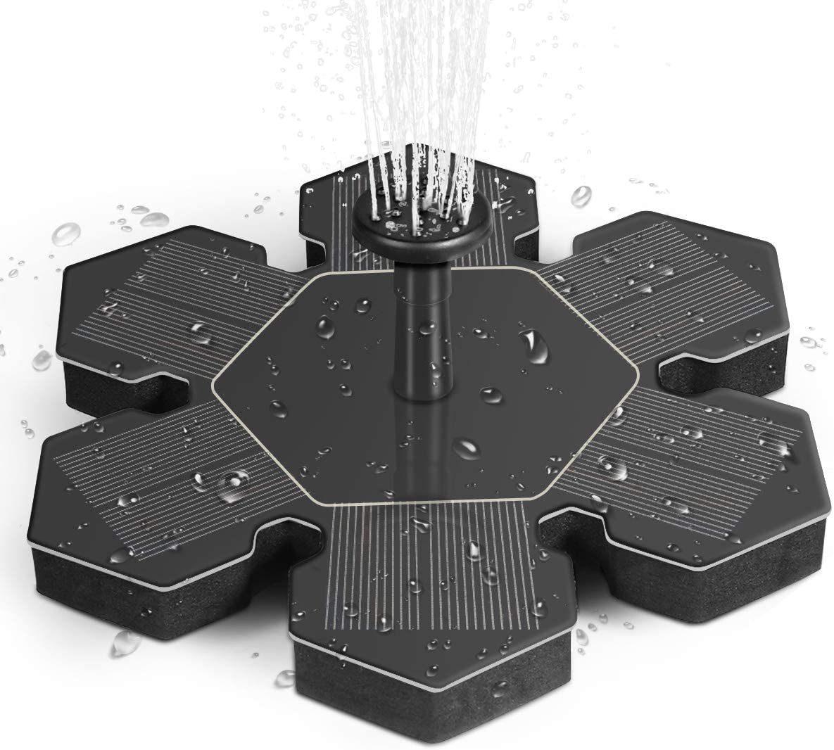 Solar fountain kit