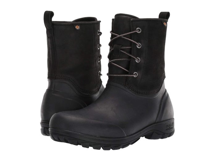 Bogs Sauvie Snow Leather boot