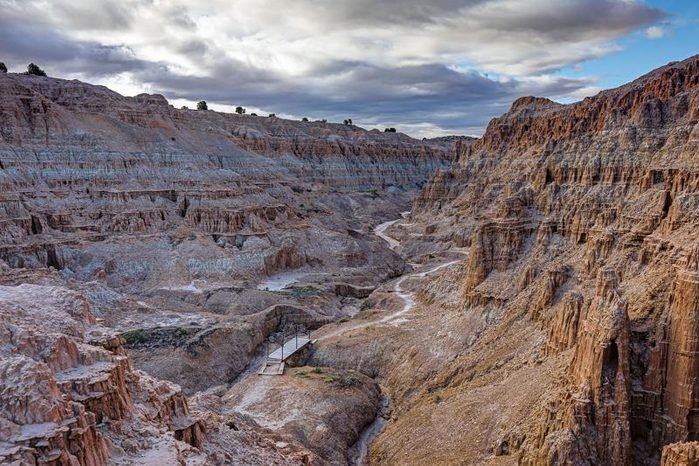 cathedral gorge state park nevada camping