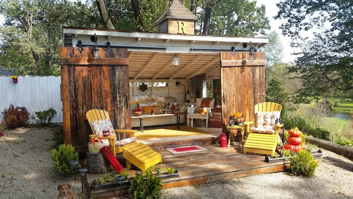 10 Backyard Garden Sheds Cute Enough To Live In Birds And Blooms