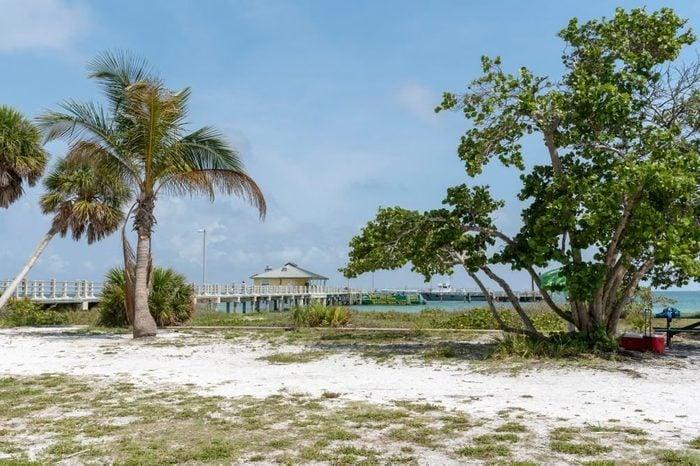 Beach at the Fort DeSoto National Park, Florida, USA
