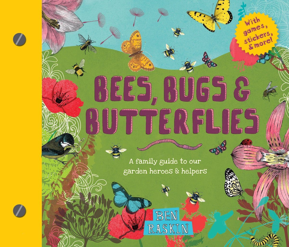 Bees, Bugs and Butterflies book