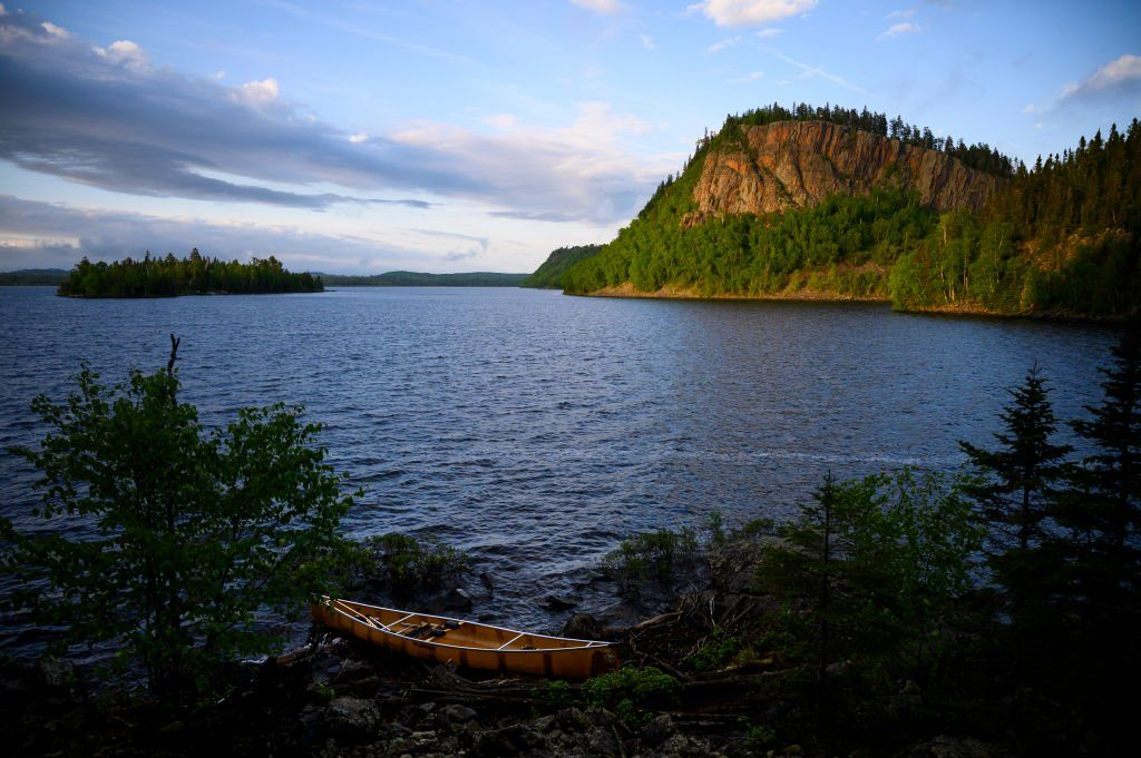 Canoe trip in Minnesota's Boundary Waters Canoe Area (BWCA)