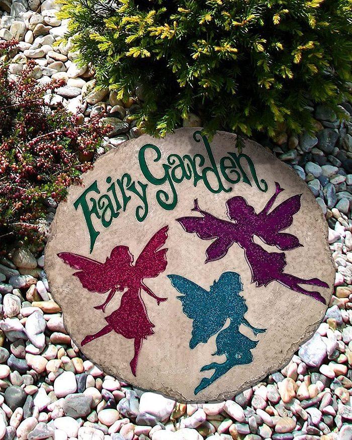 fairy garden stepping stone