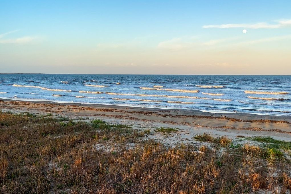 Louisiana: Grand Isle State Park beach