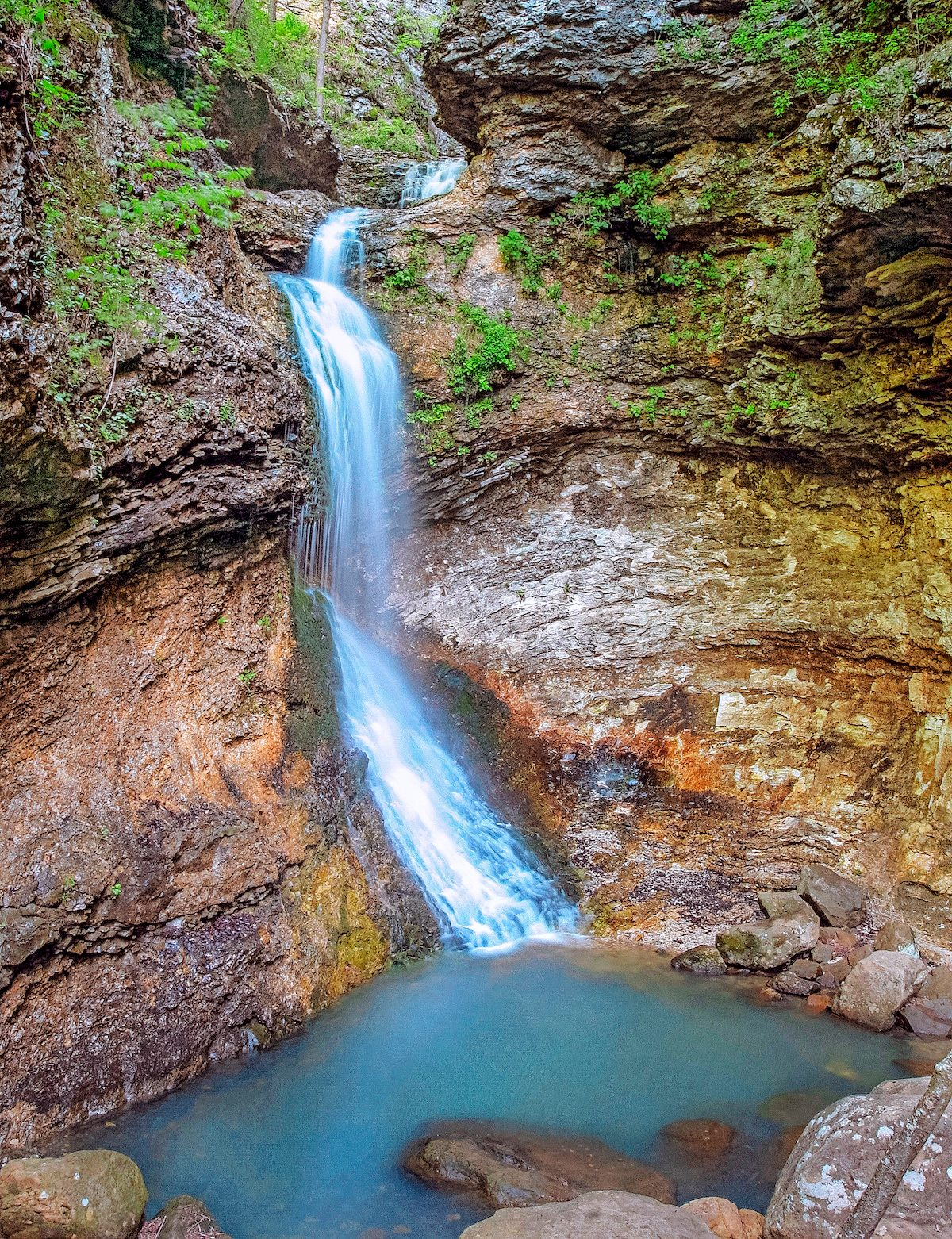 Eden Falls in Lost Valley Arkansas