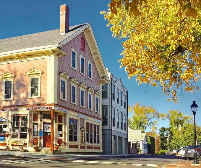Main Street in Castine, Maine Road Trip