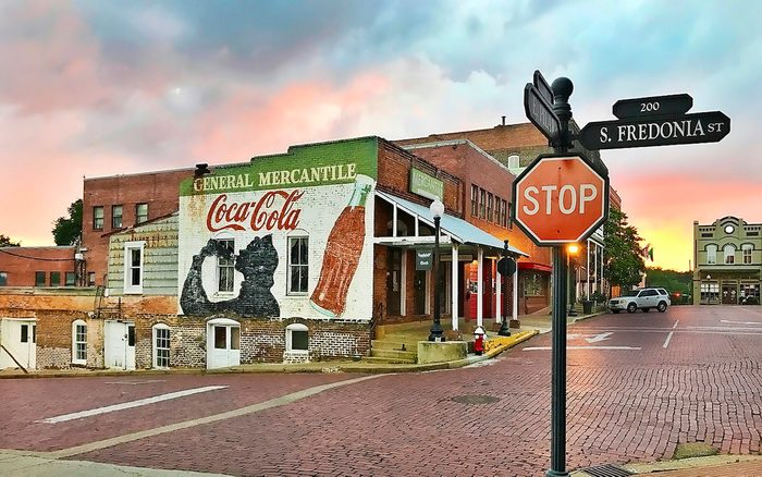 Mercantile in downtown Nacogdoches