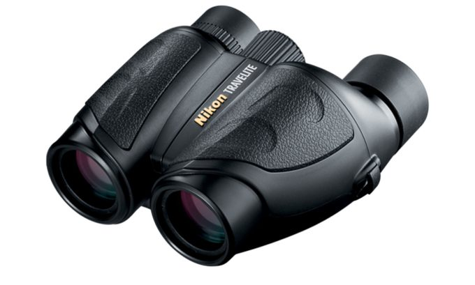 Nikon Travelite binoculars.