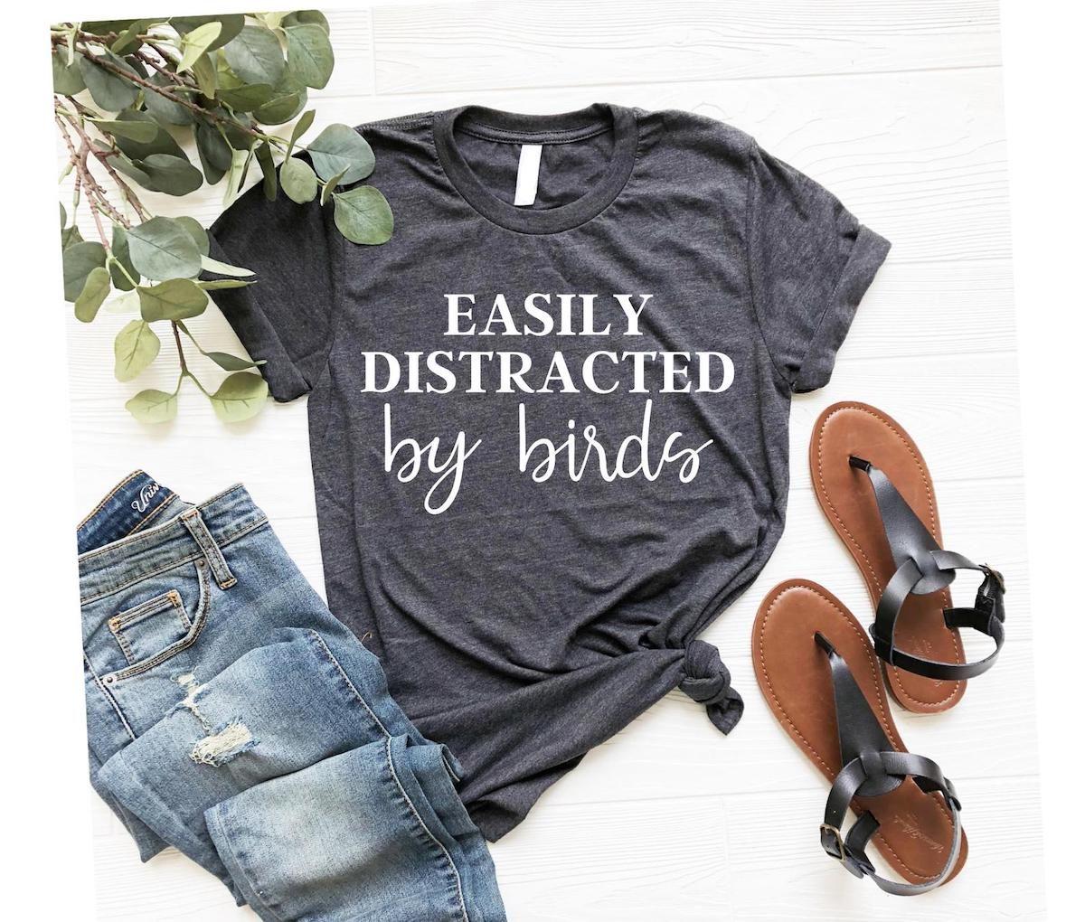 birding tshirt