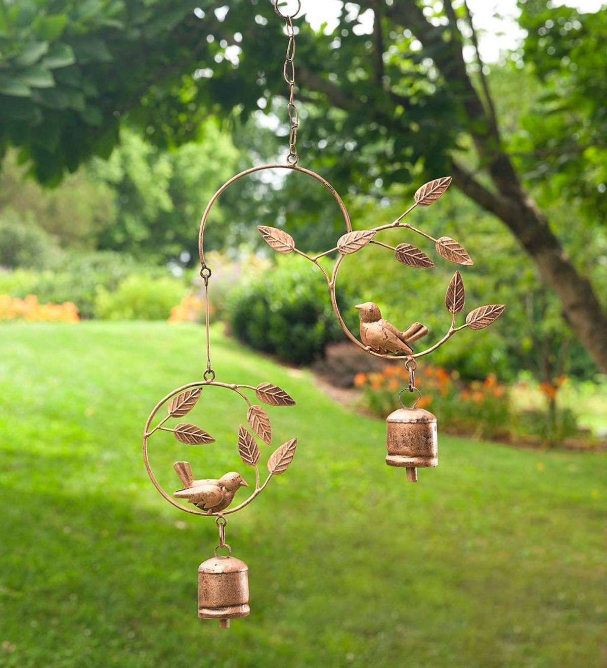 birds and bells windchime
