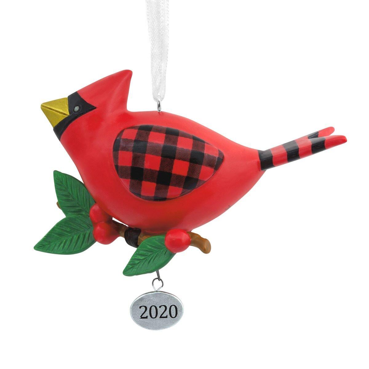 cute cardinal ornament