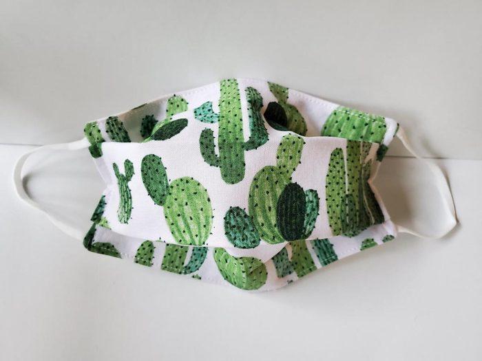 Cactus facial mask