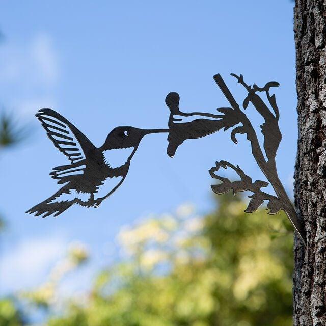 hummingbird metal bird