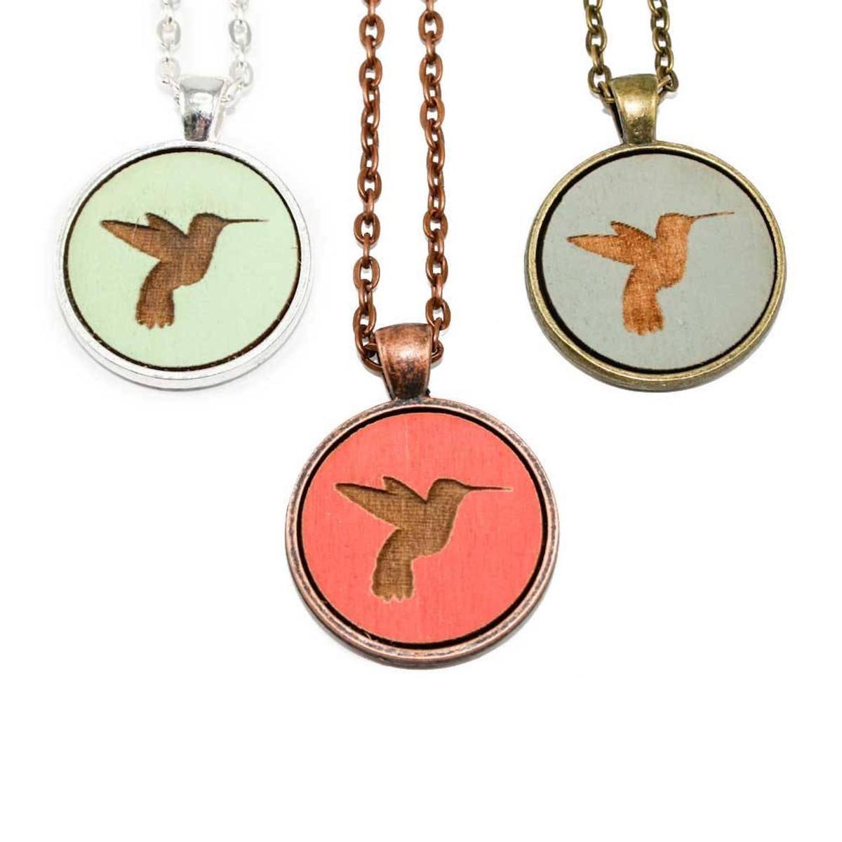 hummingbird pendants