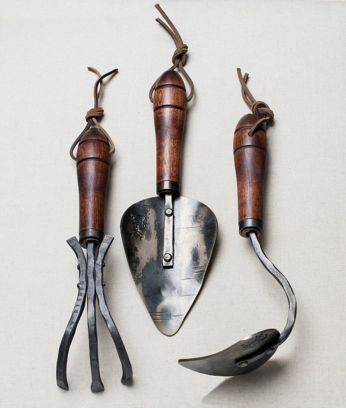 hand forged garden tools