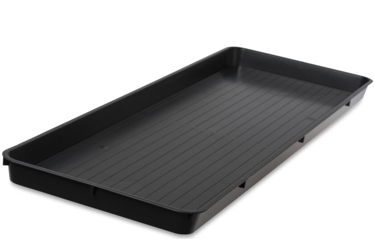 Humidity tray plant waterer