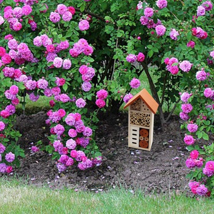 wooden bug house