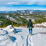 Explore Snowshoe Trails With Beautiful Scenery