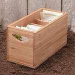 5 Useful Seed Storage Boxes and Garden Containers