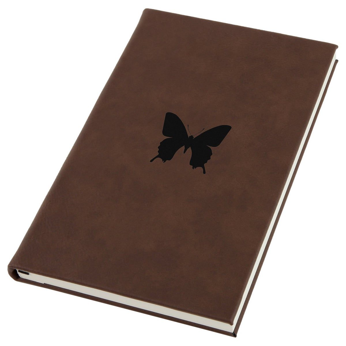 leather butterfly journal