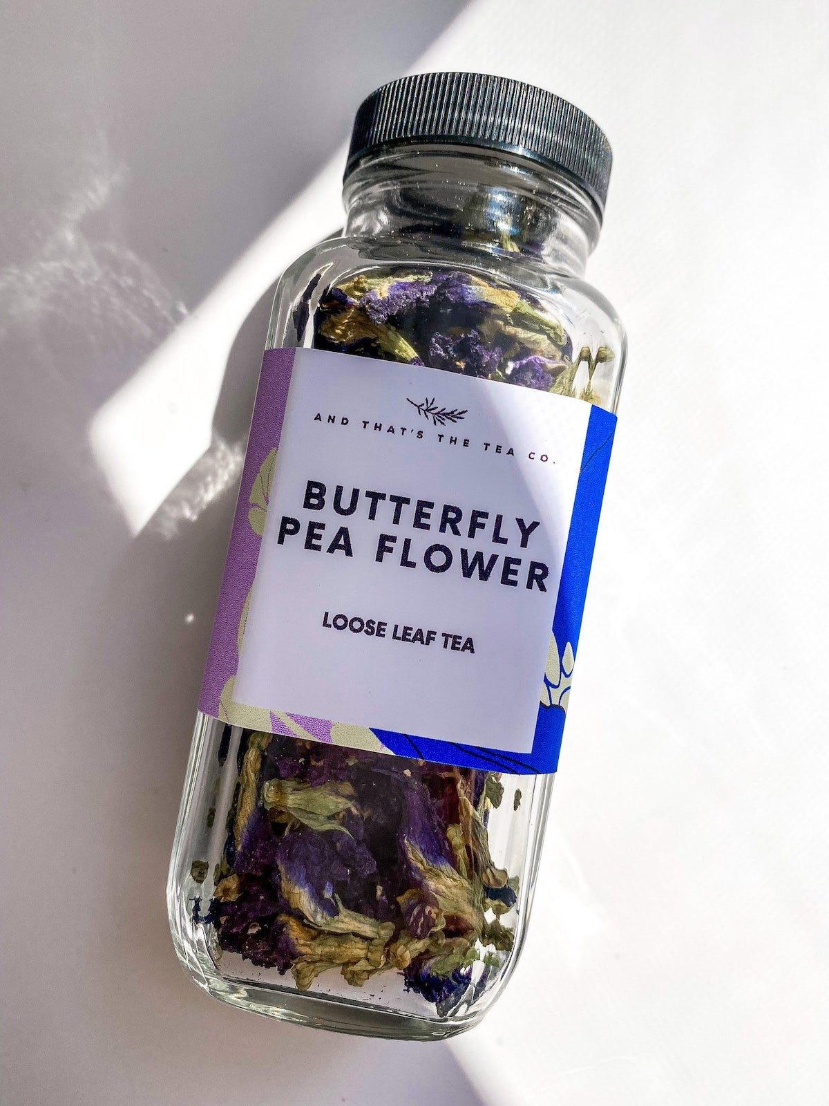 butterfly flower tea