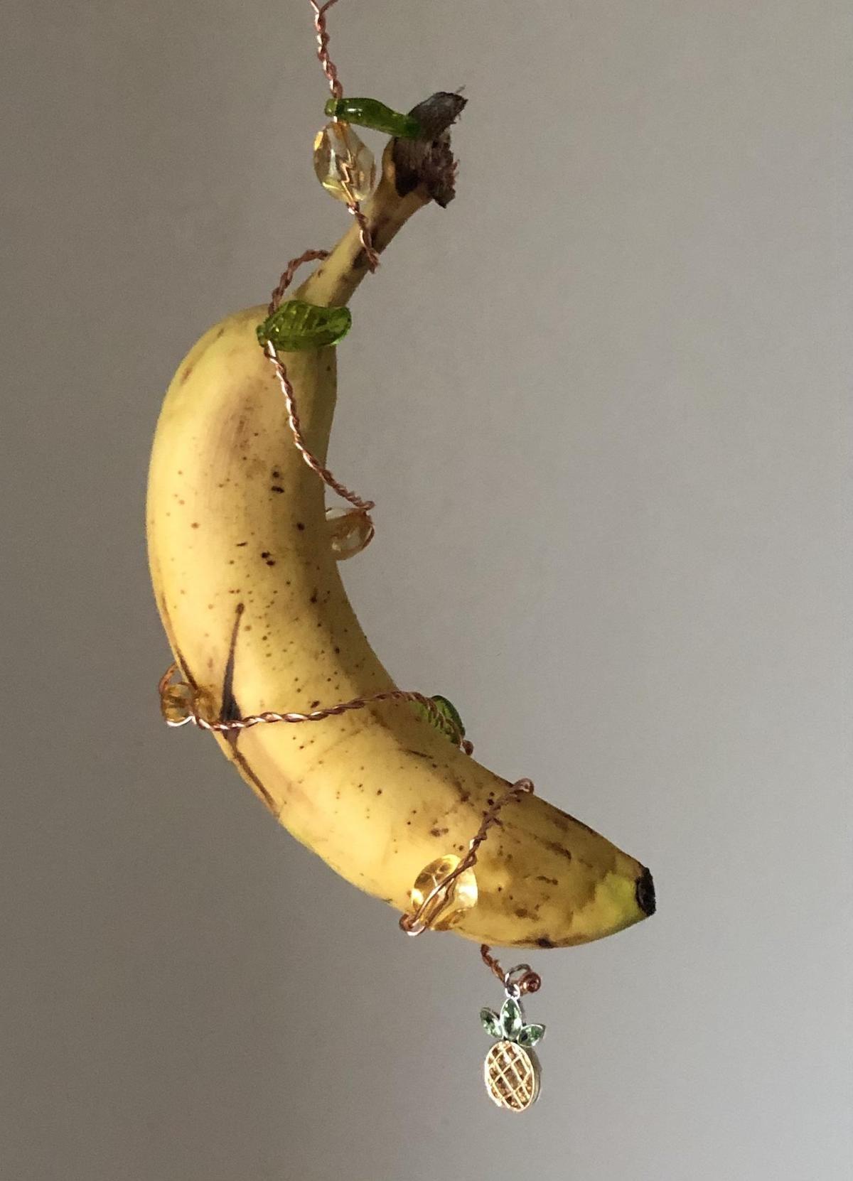 banana butterfly feeder